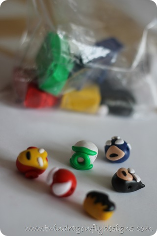 DIY Super Hero Beads Avengers