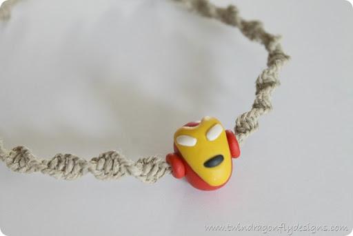 Super Hero Hemp Necklace ~ Tutorial