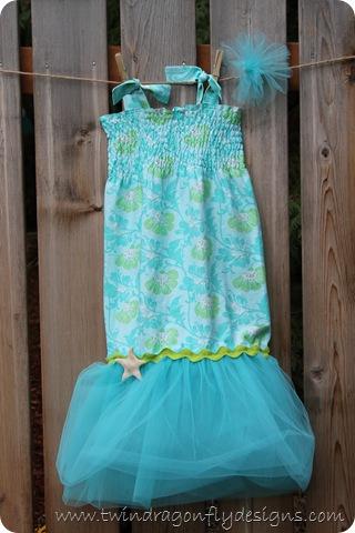 Mermaid Bubble Dress