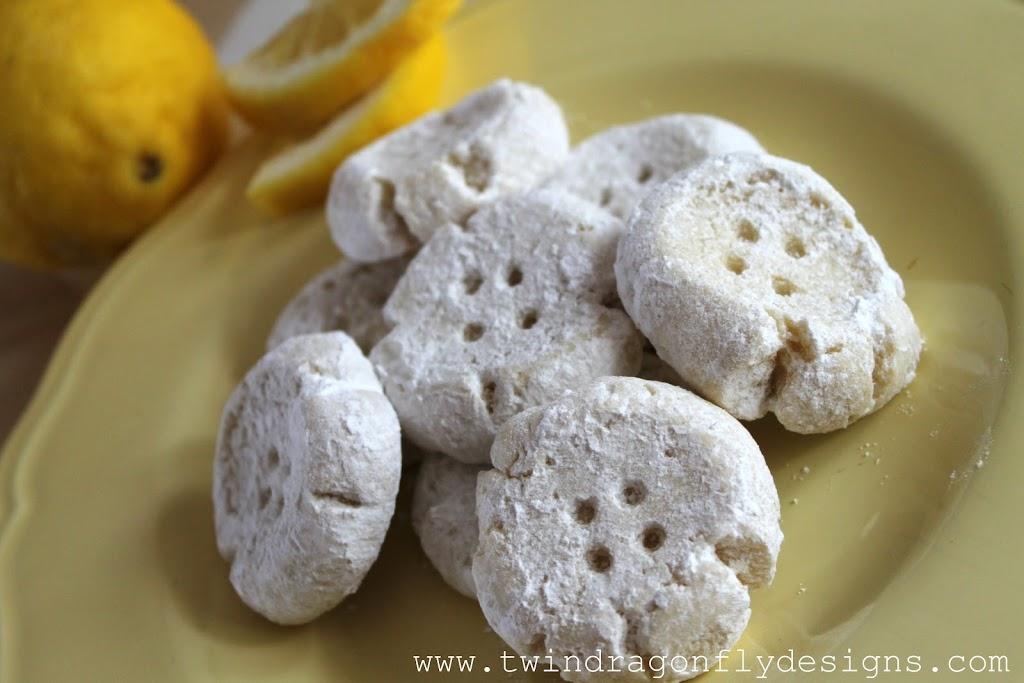 Lemon Button Cookies