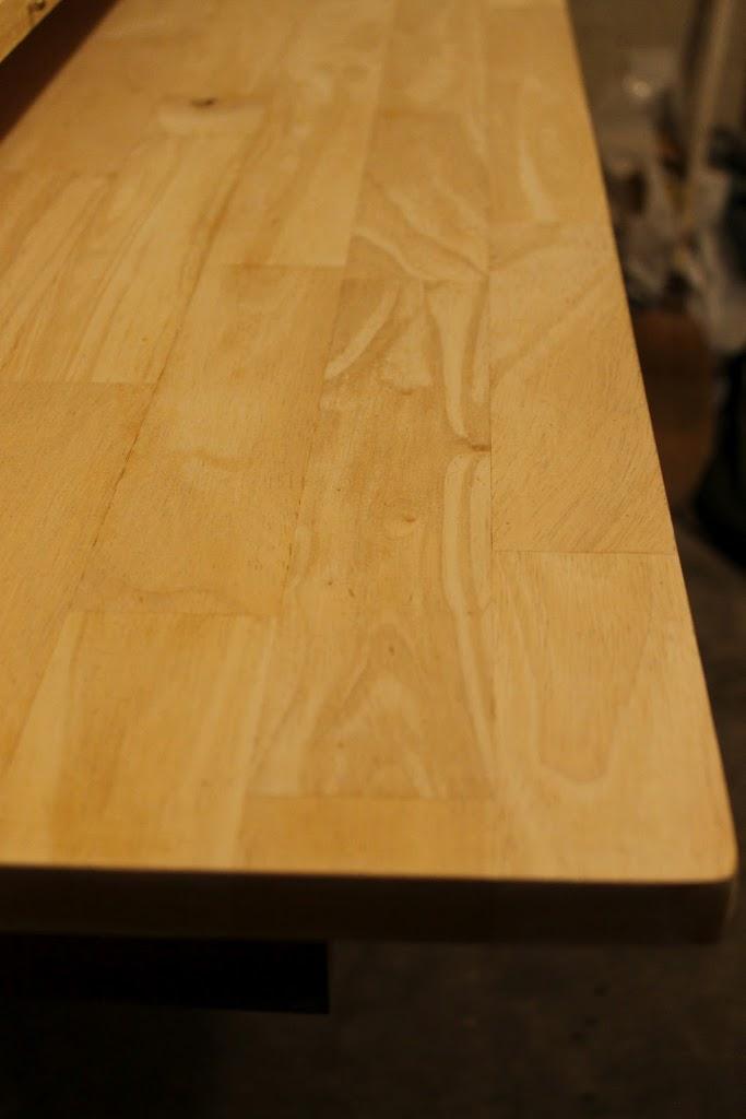 Herringbone Table Makeover