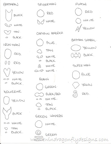 Super Hero Beads ~ a tutorial