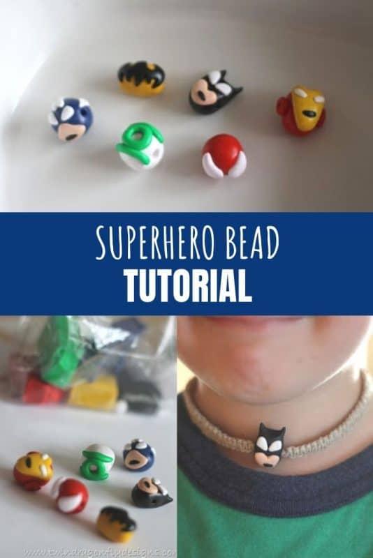 superhero bead tutorial