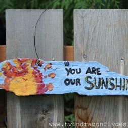 Driftwood Sign ~ a teacher gift