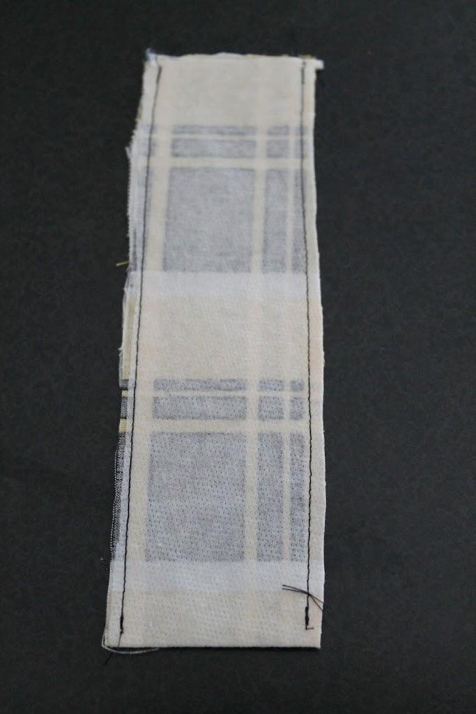 Scrap Fabric Cuff ~ a tutorial