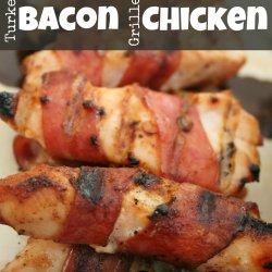 Turkey Bacon Grilled Chicken