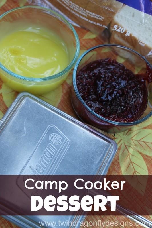 Camp Cooker Dessert