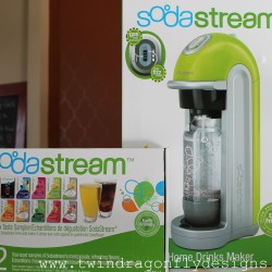 Soda Shop Party {and SodaStream Green Fizz Review}