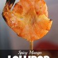 Spicy Mango Lollipop Shrimp