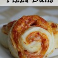 Our back-to-school staple ~ Pizza Buns