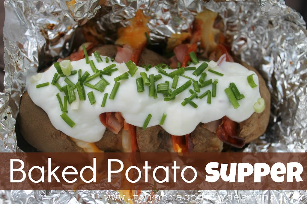 Baked Potato Supper