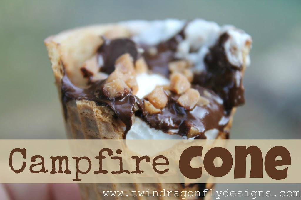 Campfire Cone Dragonfly Designs