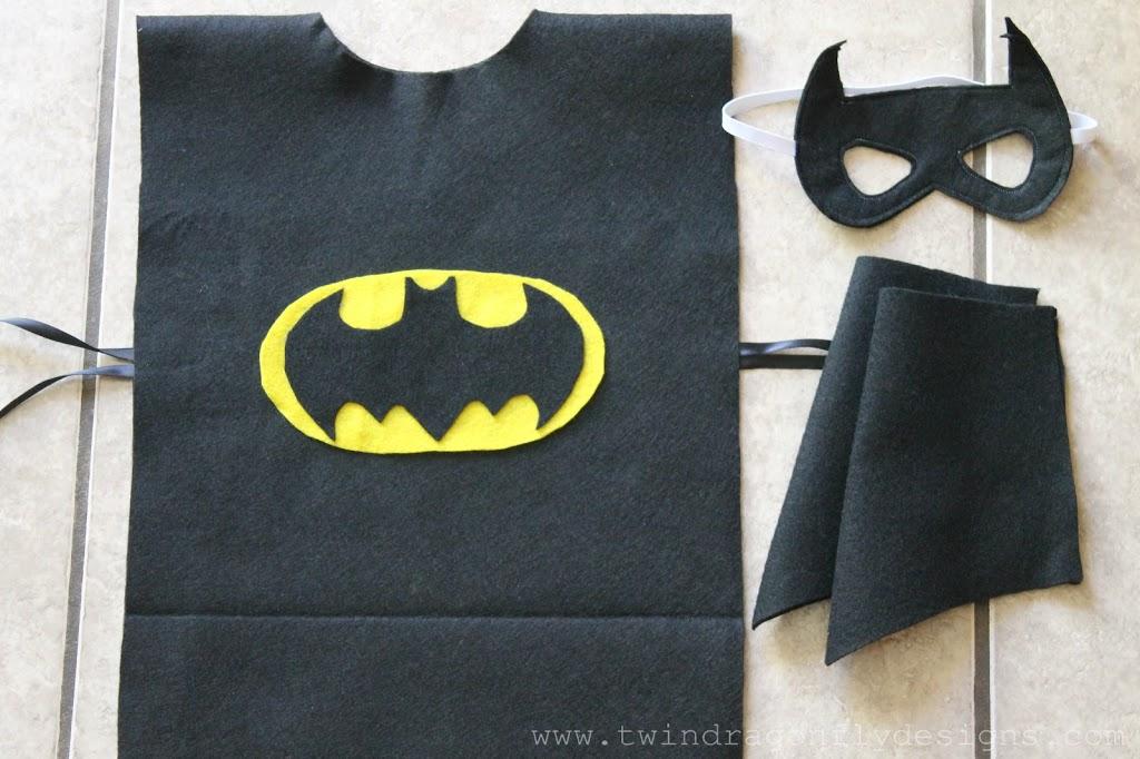 No Sew Batman Costume