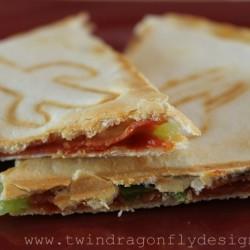Pinspired Recipe ~ Pizza Quesadilla
