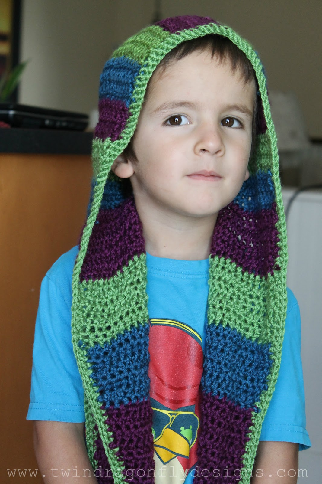 Hooded Scarf Pattern Best Design Ideas