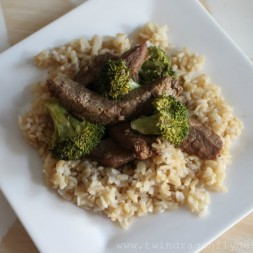 Pinspired Recipes ~ Crock Pot Beef and Broccoli