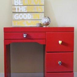 Red Superhero Desk