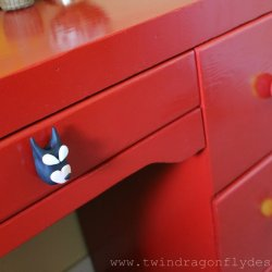 DIY Superhero Drawer Pulls