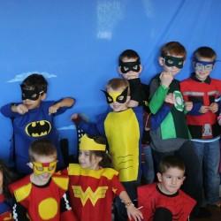 Superhero 5th Birthday Party