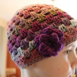 Crochet beanies for charity…