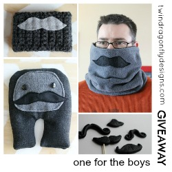 Silly Moustache DIY