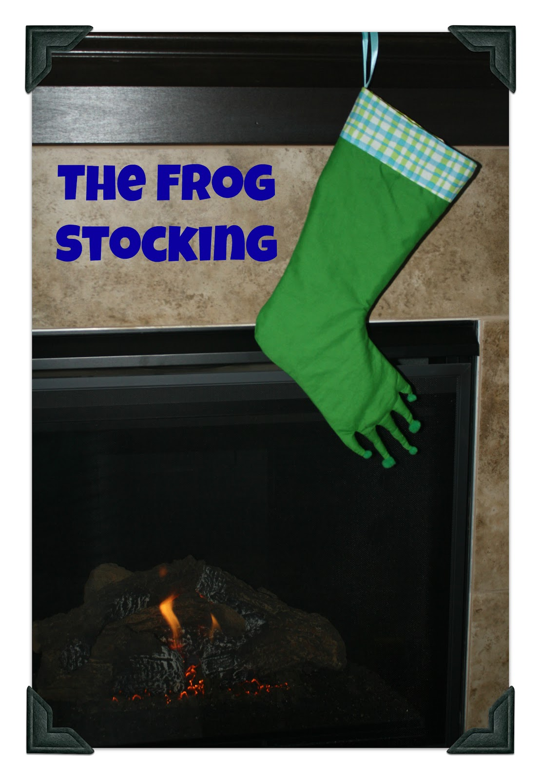 Frog Stocking from Kenda @ Kenda\'s Crafts » Dragonfly Designs