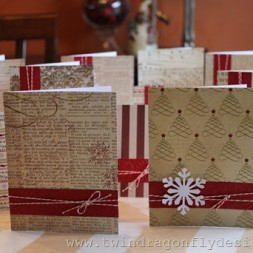 Patterned Christmas Cards