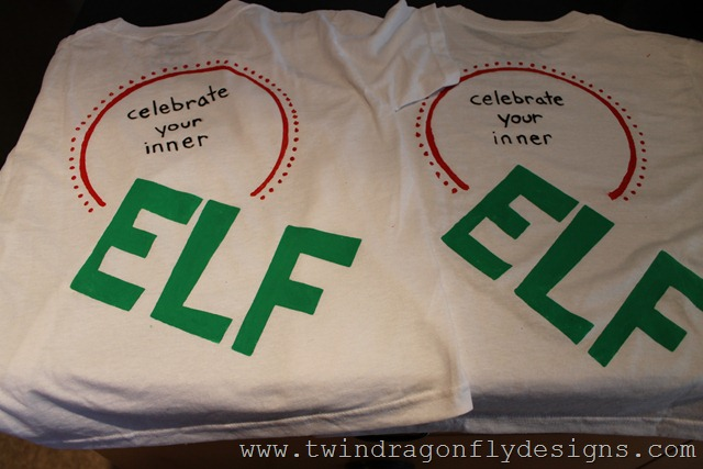 DIY Elf T-shirt