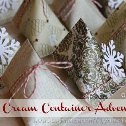 Sour Cream Container Advent