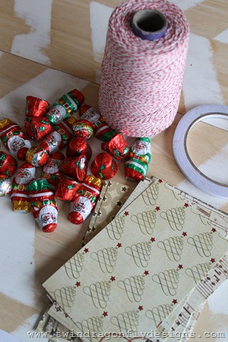 Sour Cream Container Advent Place Setting (5)