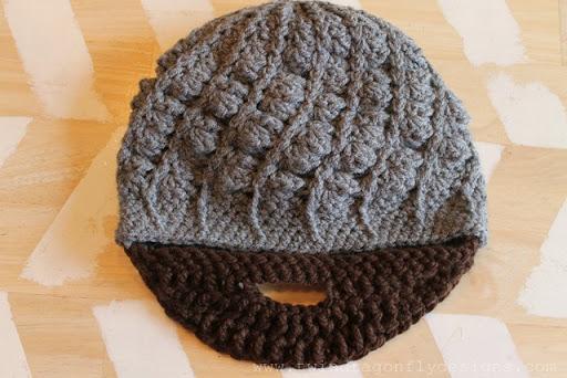 Crochet Beard Pattern