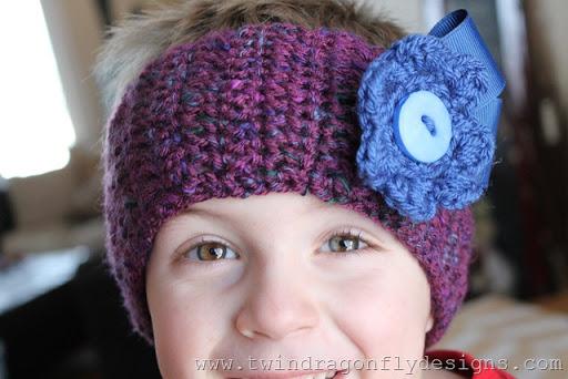 A Little Girl Headband