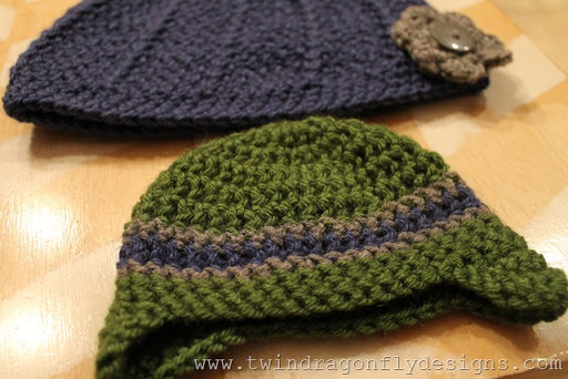 Mother and Son Beanies