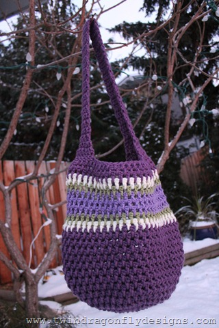 Purple Market Bag