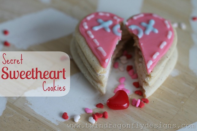 Secret Sweetheart Cookies title