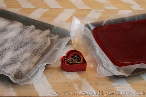 Heart Shaped Valentine Gummies