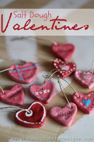 Salt Dough Valentines