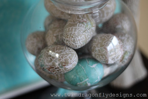 Decoupage Easter Eggs Tutorial