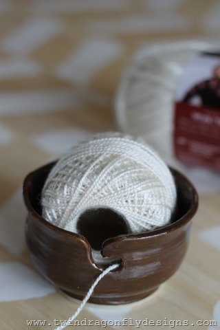 Pottery Yarn Bowl (2)