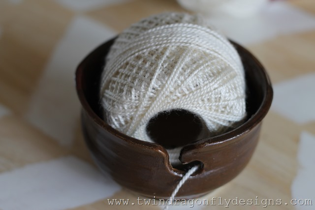 Pottery Yarn Bowl (3)