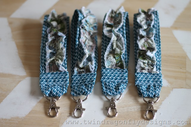 Ruffled Key Fobs and Wholeport Review