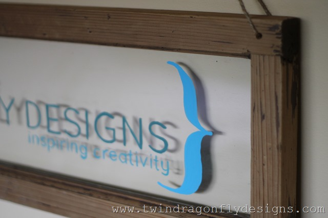 Vintage Business Sign DIY