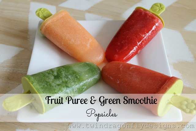 Fruit Puree Popsicles