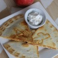 Cinnamon Apple Quesadilla