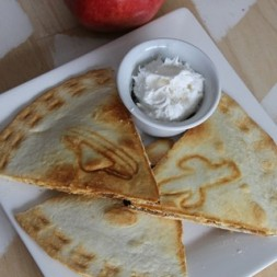 Cinnamon Apple Quesadilla