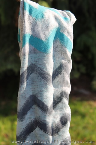 Upcycled Chevron Infinity Scarf (3)