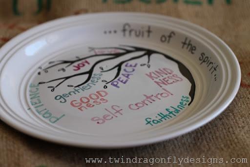 Fruit of the spirit ~ plate it forward