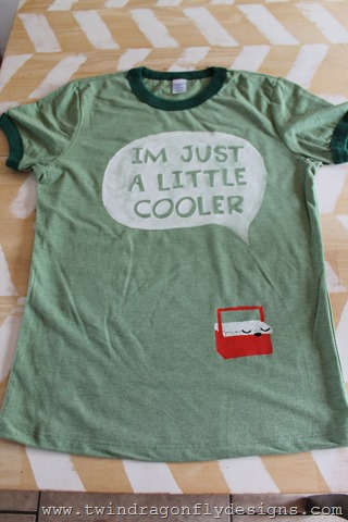 I'm Just a Little Cooler T-shirt (1)