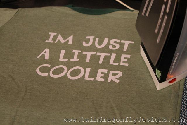 Camping T-shirt ~ I'm Just a Little Cooler