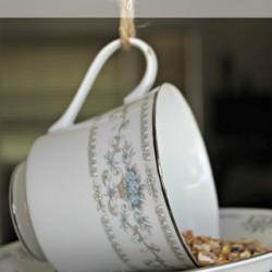Mother's Day ~ Tea Cup Bird Feeder